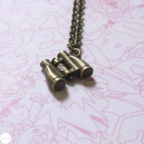 Binoculars Necklace