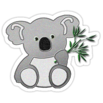 Koala Bear Sticker