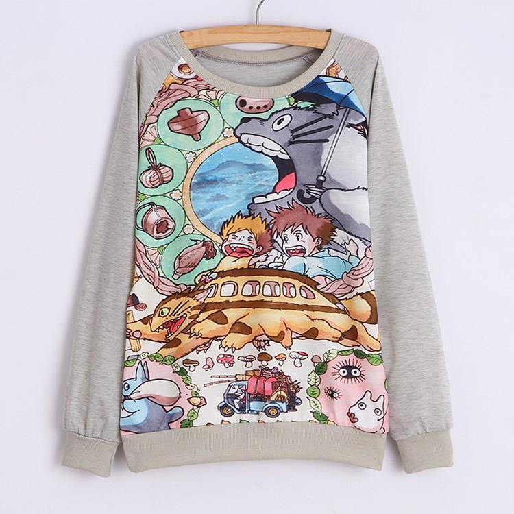 Sudadera Totoro/Totoro Sweatshirt WH214 on Storenvy