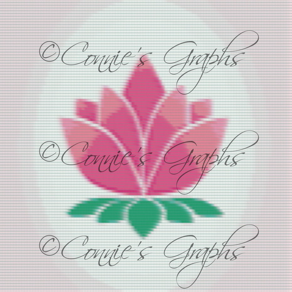 Lotus Flower 1 Graph Connies Graphs Online Store Powered By