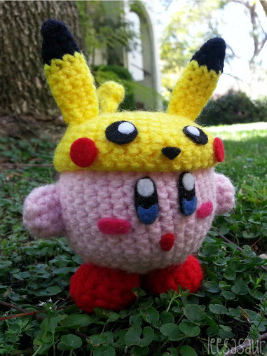 Crochet Patterns Amigurumi Monkey : LEESASAUR Kirby Pikachu Amigurumi Online Store Powered ...