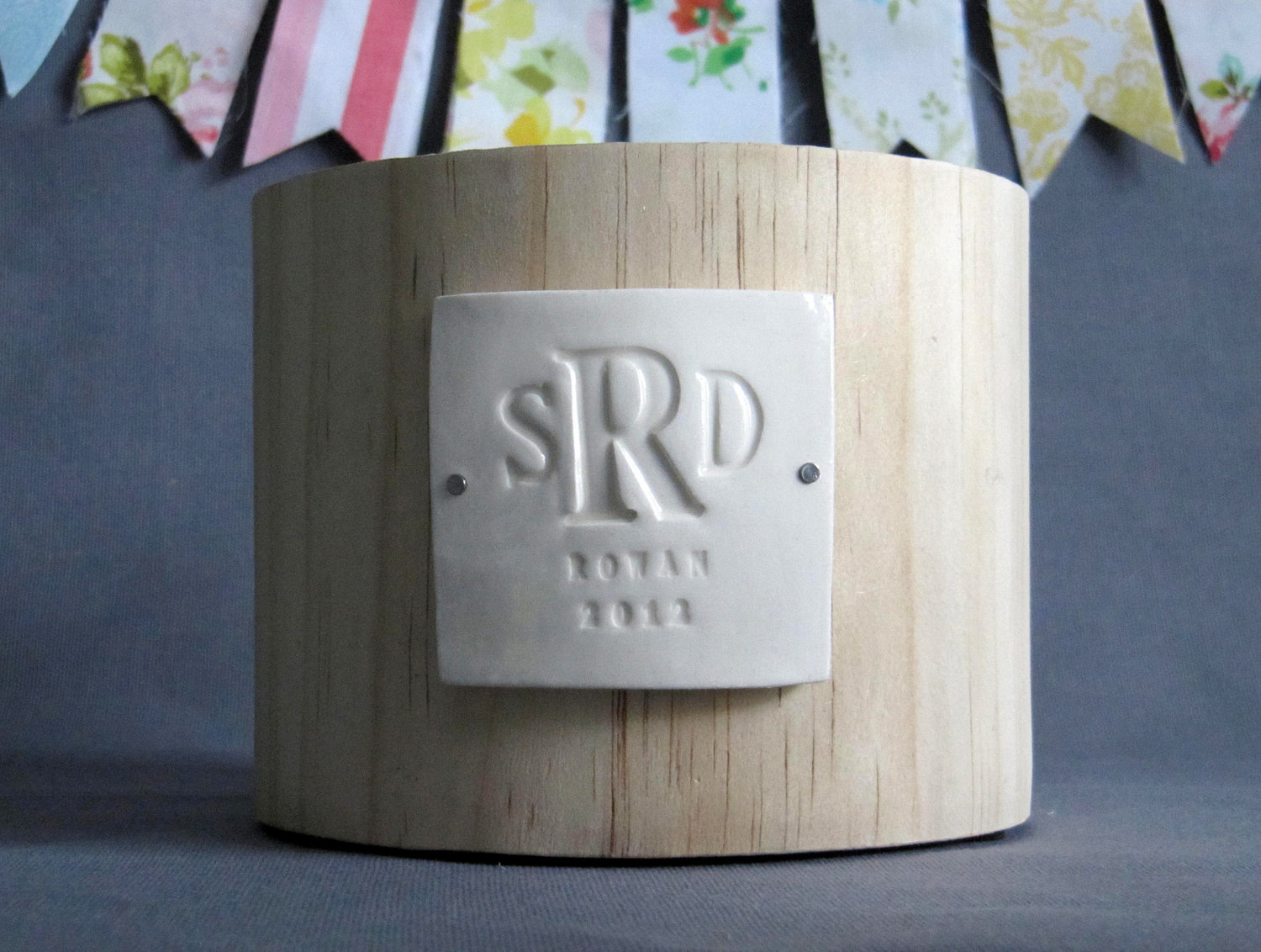 Unique Wedding Gifts Wood : PERSONALIZED Wedding Gift - Monogrammed Wood Planter - Gift Packaged ...