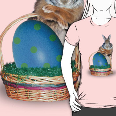 Easter bunny rabbit t-shirt