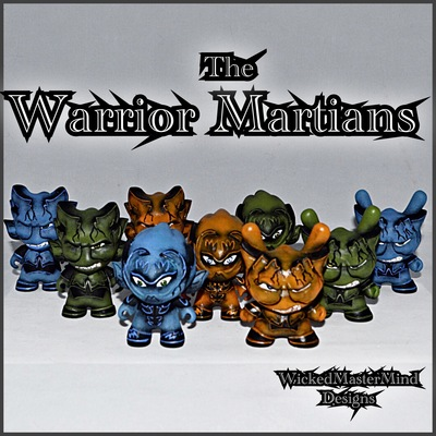 Warrior martians