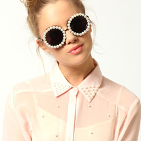 White Pearl Sunglasses