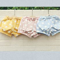 Giullia Pink/ Yellow/ Blue Shorts For Storenvy