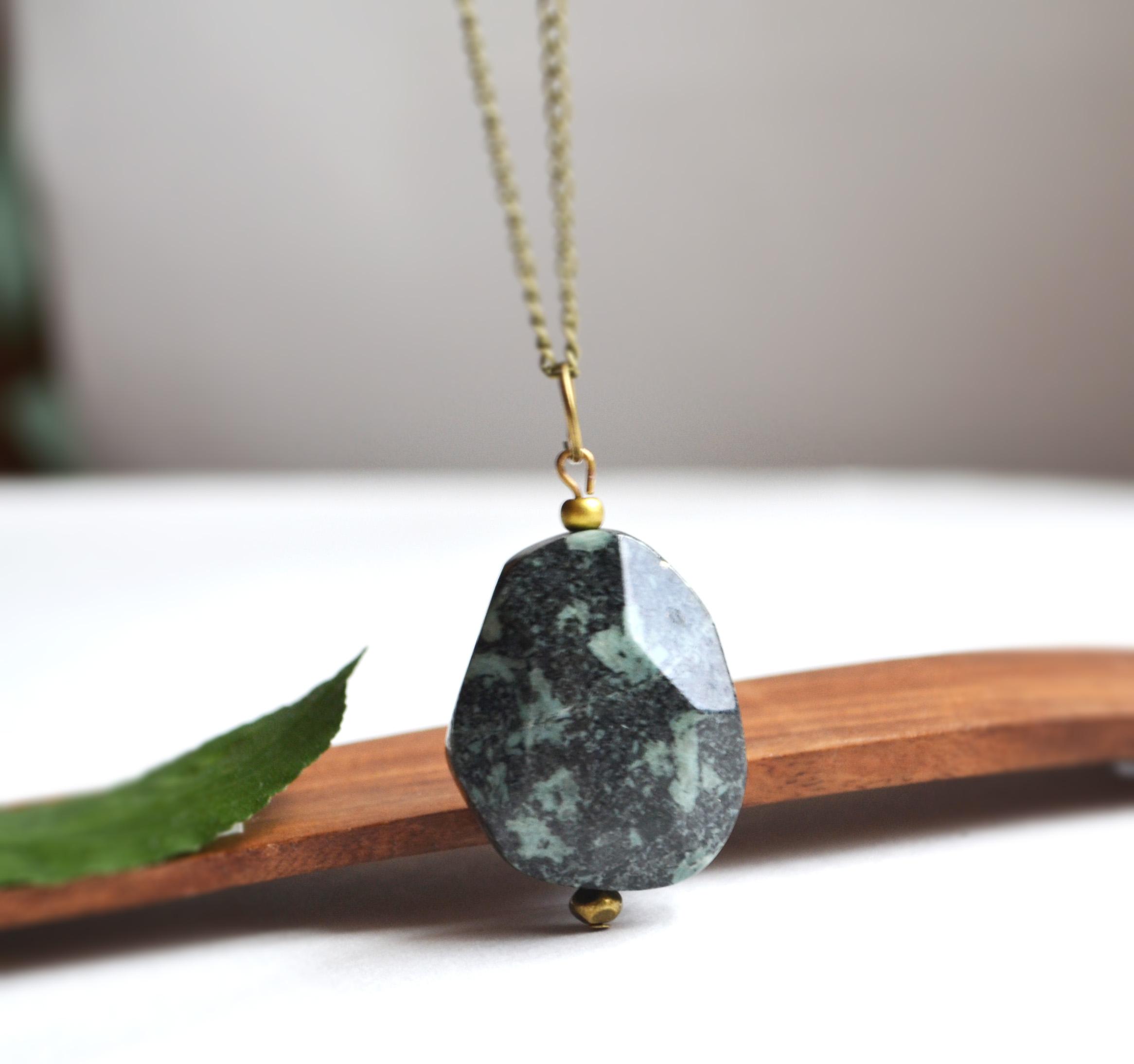 African Turquoise Jasper, Chunky Stone, African Turquoise Jasper ...