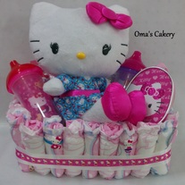 Hello Kitty Toddler Basket