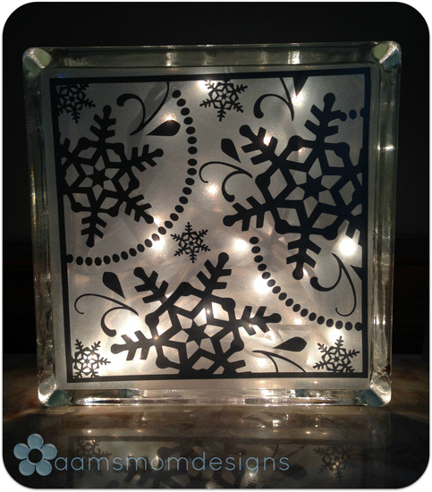 Large Snowflake Christmas Lights