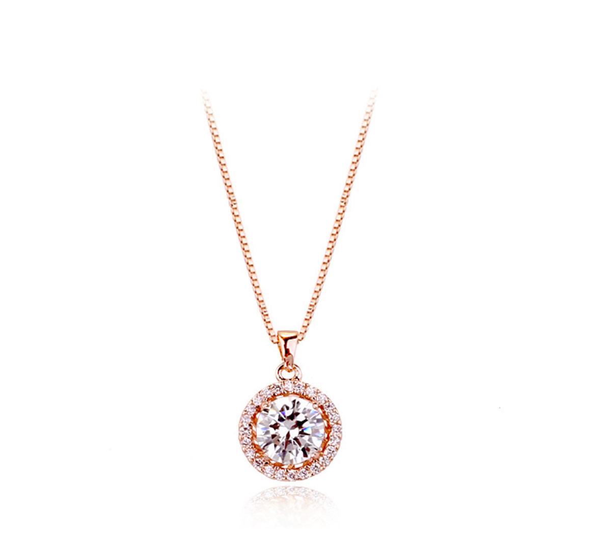 Ellangelcollection fine jewelry collection white round for Fine jewelry diamond pendants