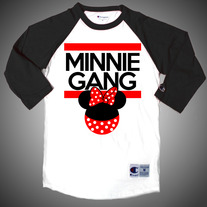 Minnie Gang Baseball Tee