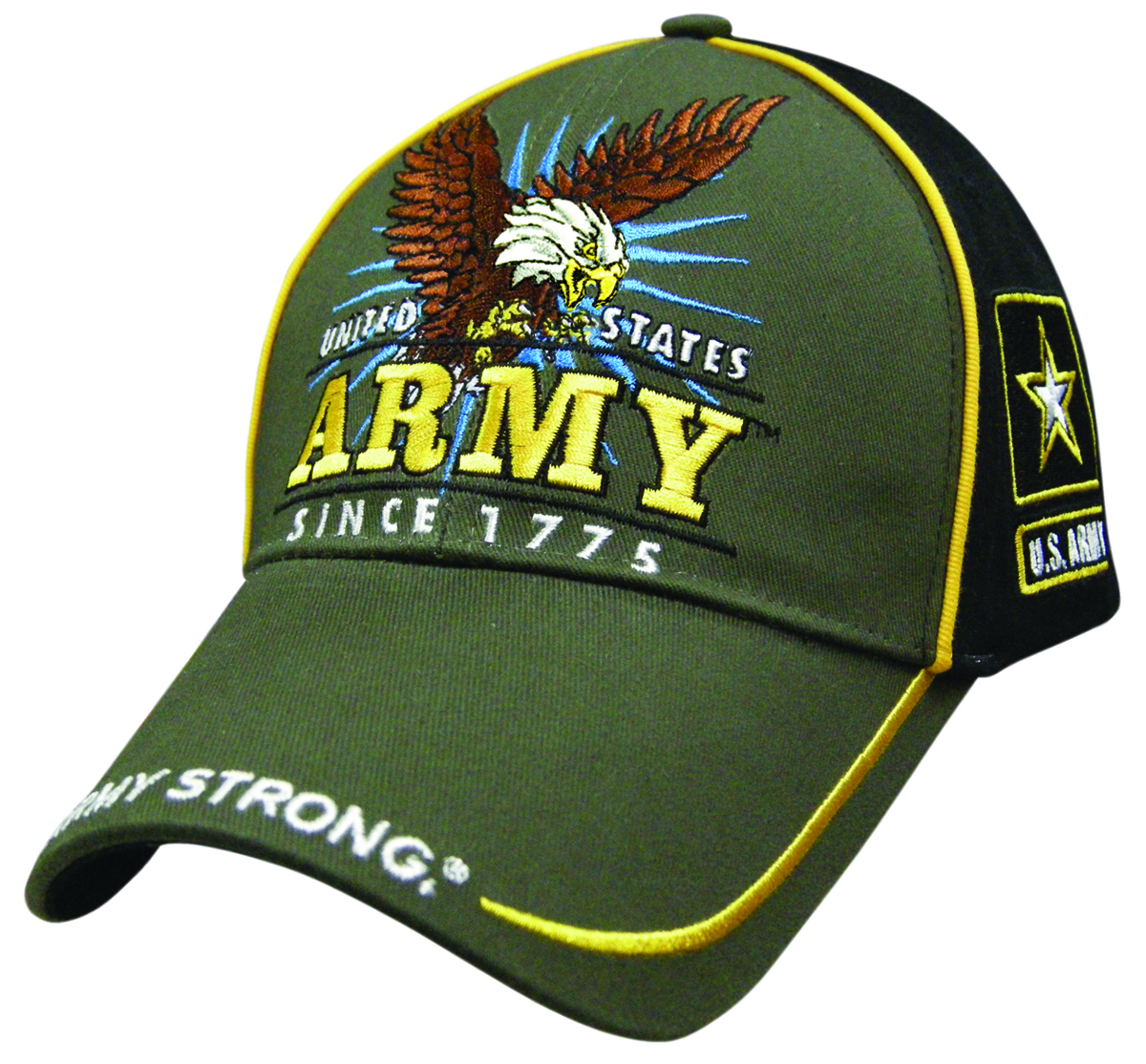 Licensed Usmy Veteran Army Strong Since 1775with Army Symbol