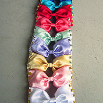 Studded Bows- BUY 2 GET 1 FREE - Thumbnail 1