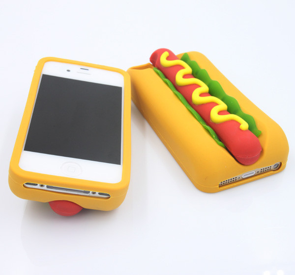 Hotdog 3d iphone 5 5s case cover flyasfk online store for Case 3d online