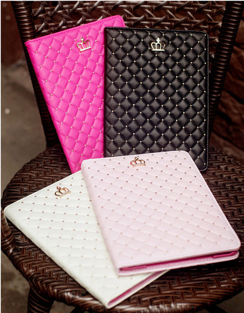 Best Luxury Black Pink Smart Covers Cases For iPad Air 2 ...