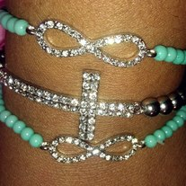 Infinity Mint Cross Stack