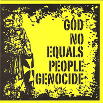God Equals Genocide / No People Split 7""