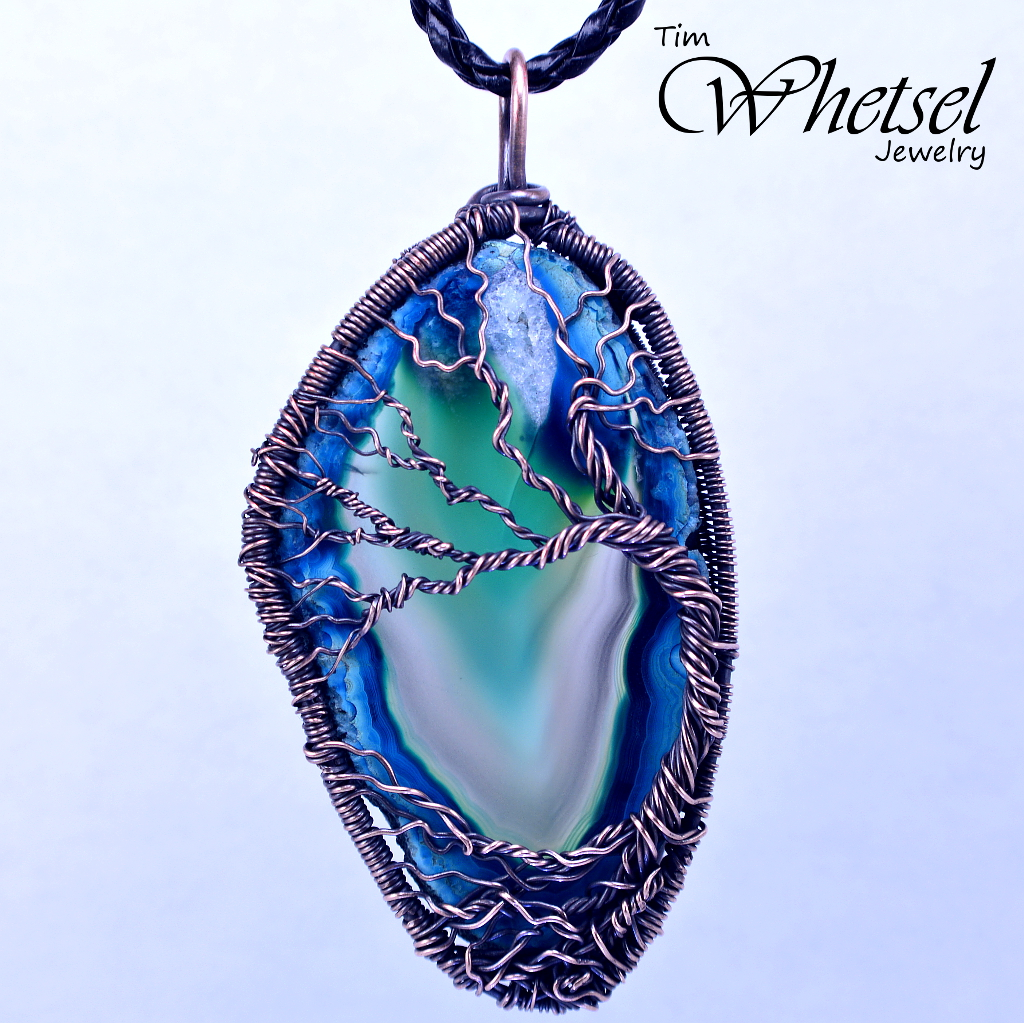 Wire Wrap Agate - DATA WIRING •