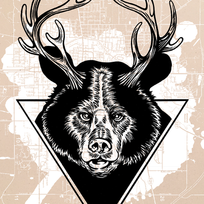 "2014 stronge ""bear + deer = beer"""