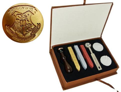 Cool Vintage Harry Potter Hogwarts School Badge Wax Seal