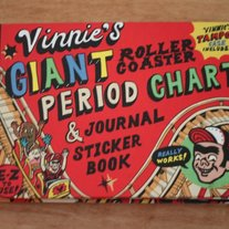 Vinnie's Giant Period Chart, Journal & Sticker Book