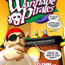 The Wannabe Pirates #2 Digital Comic