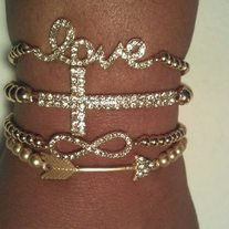 Gold Love Stack