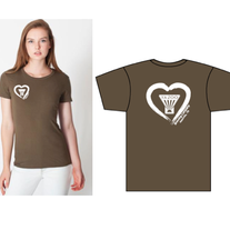 Olive Women's Heart Shirt