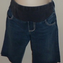 Denim Shorts-Serfontaine Size 30