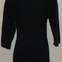 Long Black Sweater-Gap Maternity Size Small