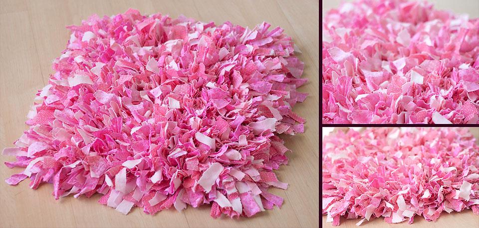 Pink Shag Rug