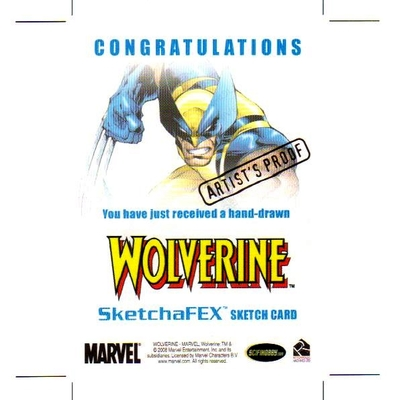 Wolverine origins ap sketch card