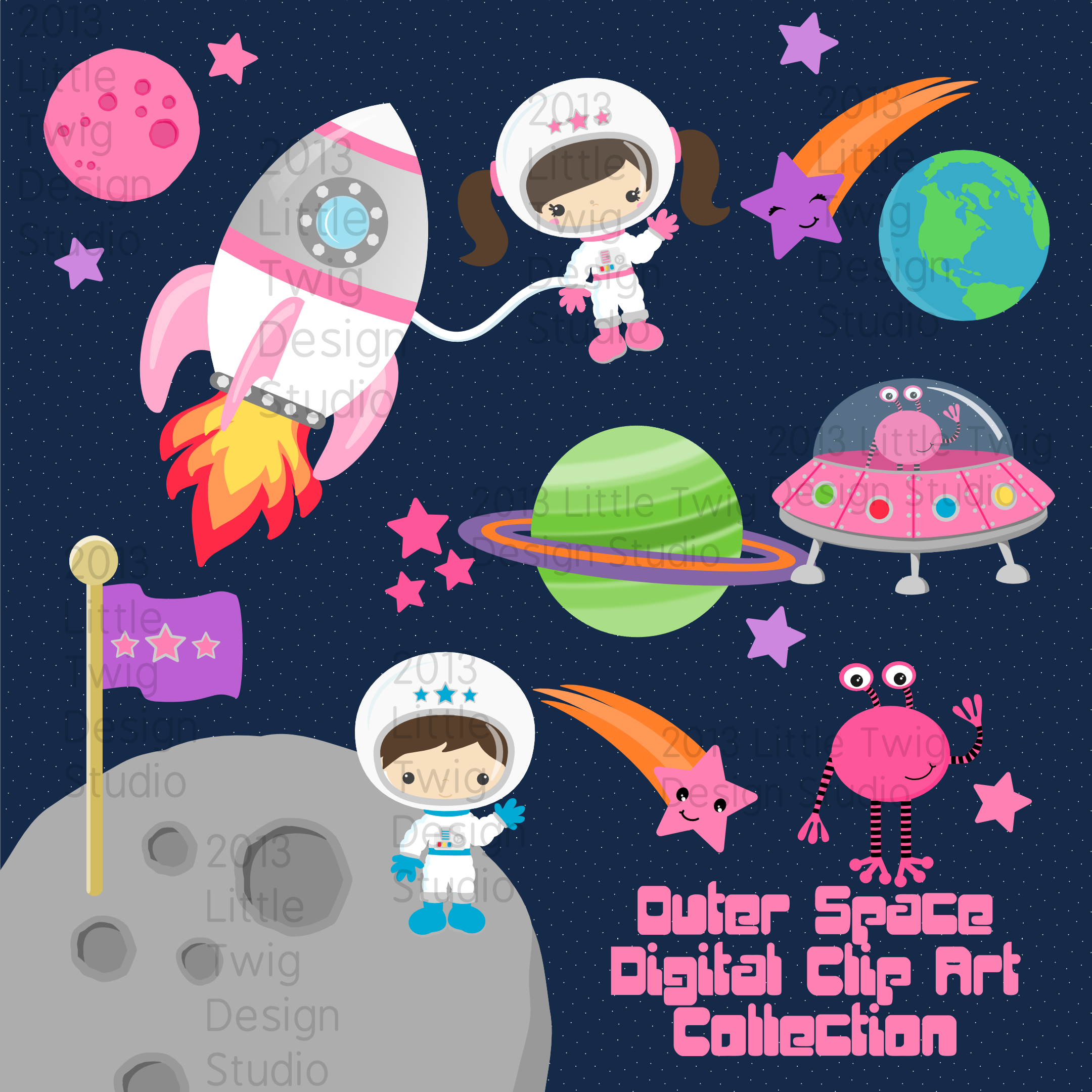 Clipart astronaut cliparts galleries for Outer space studios