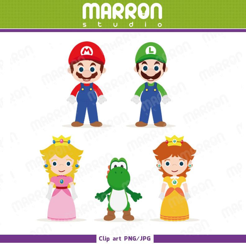Mario And Peach And Luigi And Daisy