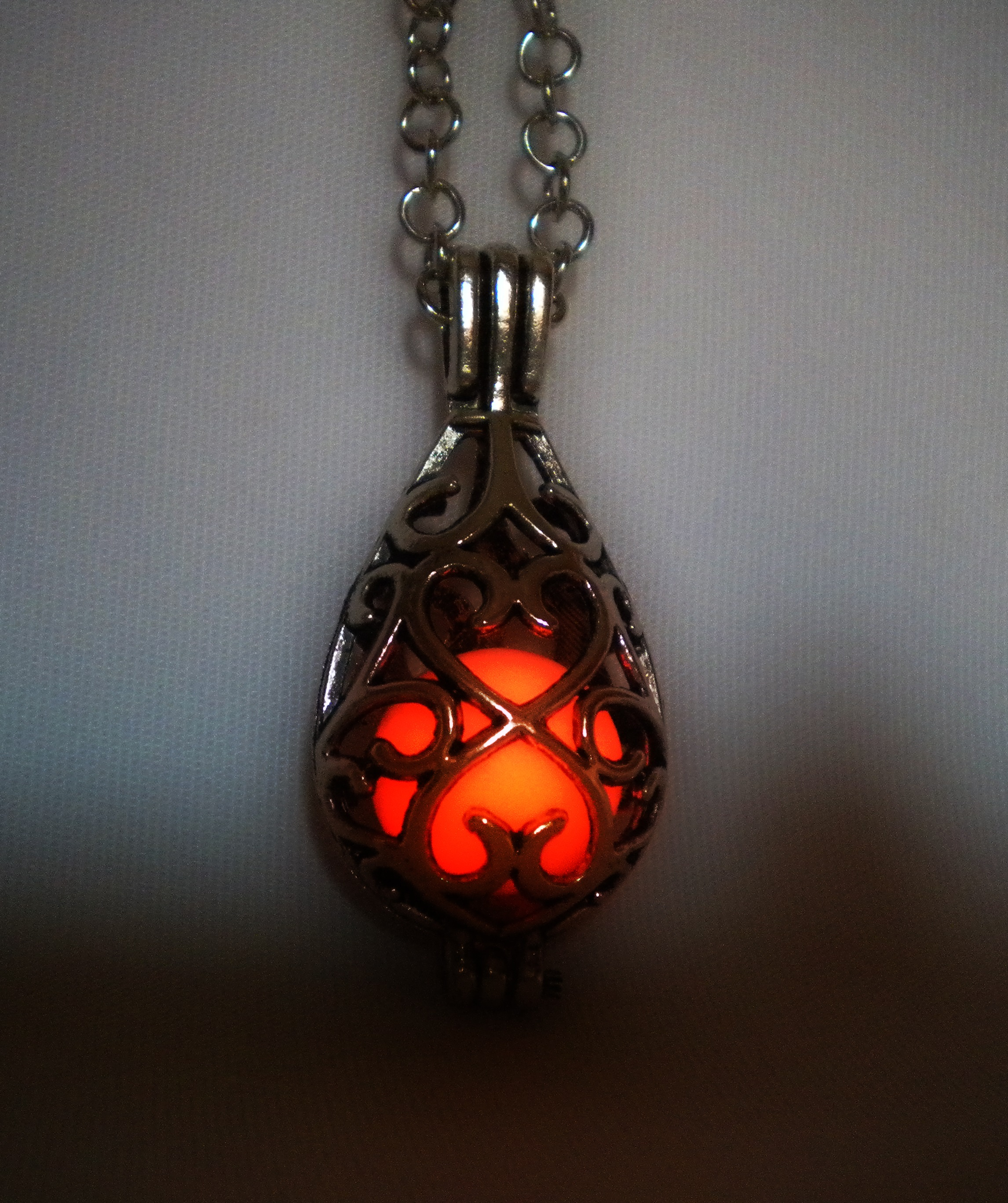 product red on chain pendant long giulietta studio coral gallery designs and