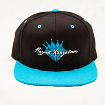 Diamond King Snapback (Teal/Black)