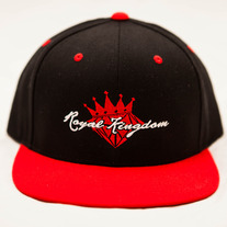 Diamond King Snapback (Red/Black)
