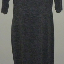 Long Gray Dress-Motherhood Maternity Size XL