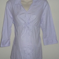 Light Purple Top with Knot-New Additions Maternity Size Large