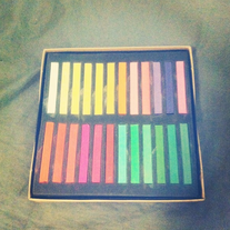 48 Color Pastel Hair Chalk