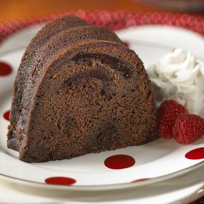 Granny's Double Chocolate Raspberry Pound Cake · Granny Cakes Gourmet ...