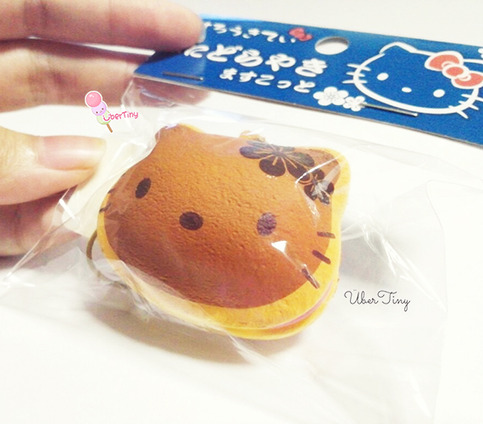Very Small Squishy Collection : Rare Hello Kitty Dorayaki Squishy - Licensed Sanrio ? Uber Tiny ? Online Store Powered by Storenvy