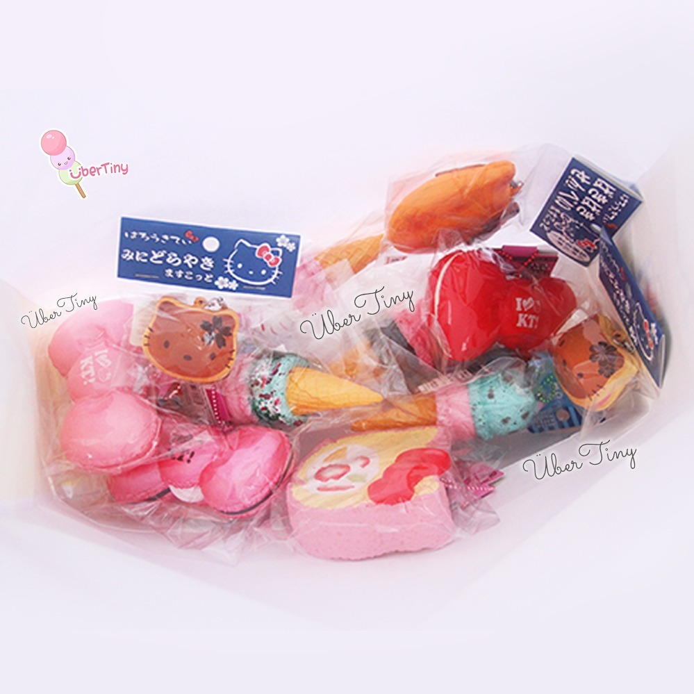 5 pcs Rare Squishy Grab Bag (Licensed Sanrio/San-x) - 5 squishies ? Uber Tiny ? Online Store ...