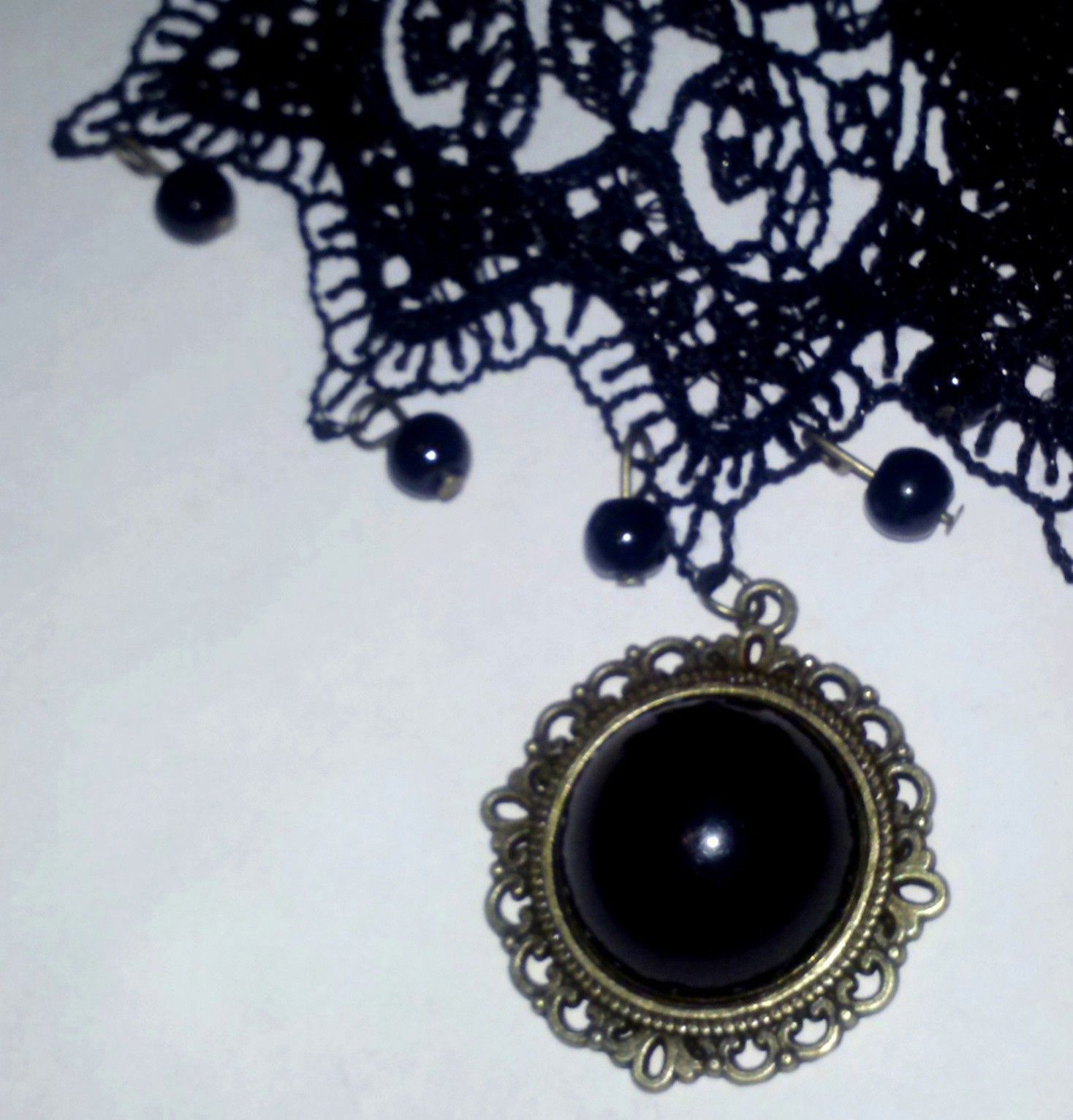 chains fullxfull listing il necklace goth choker lace black en dk elegant gothic with zoom