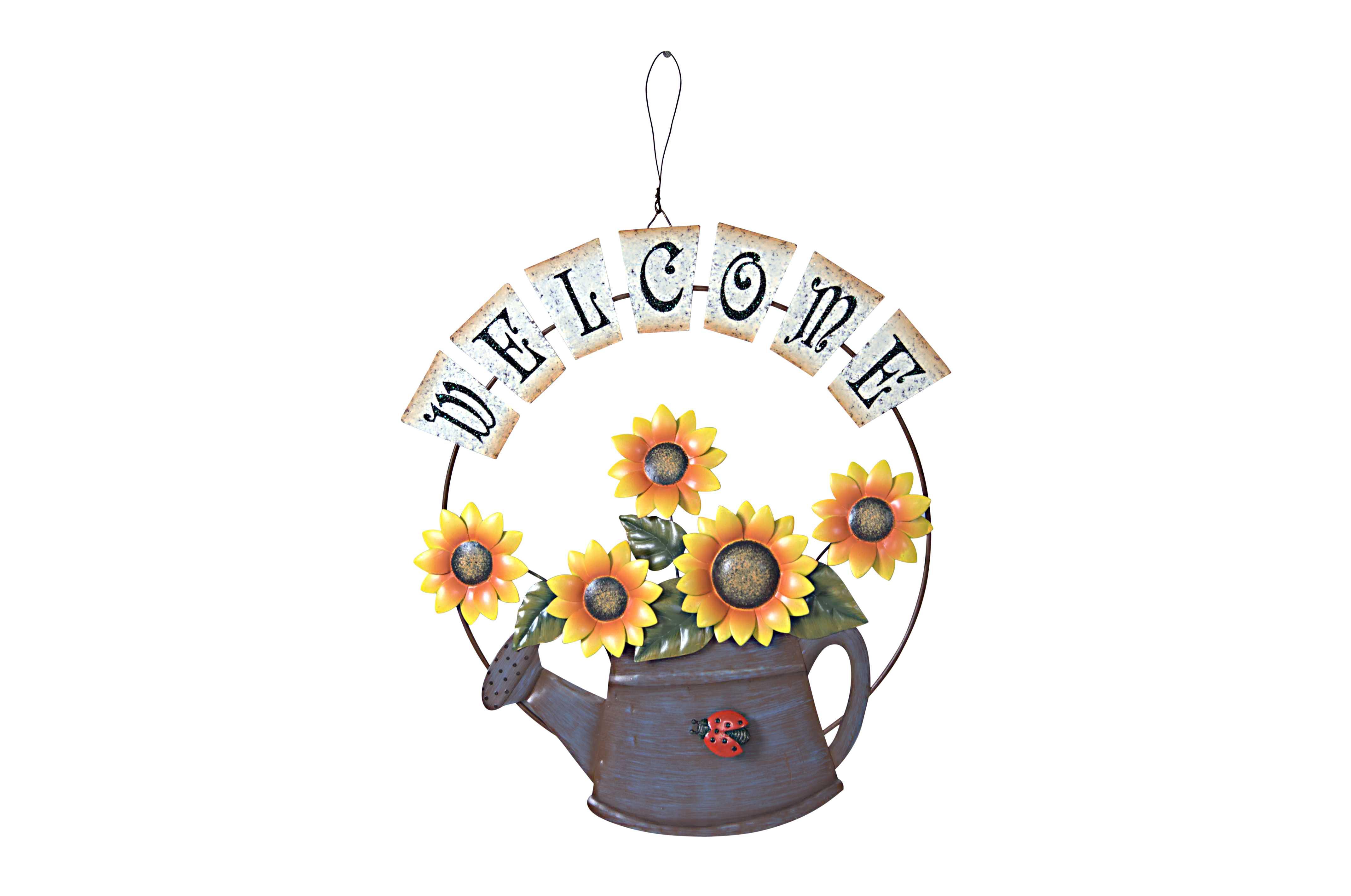 Annie Design   Sunflower Welcome Sign   Online Store