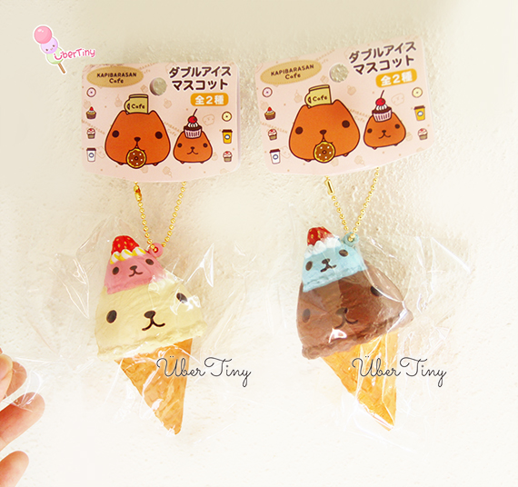 Kapibarasan Squishy Tag : Kapibarasan Cafe Icecream Squishy (Licensed) ? Uber Tiny ? Online Store Powered by Storenvy