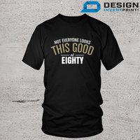 80th Birthday T Shirt Born In 1935 Great Present