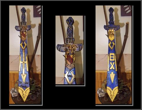 Custom Greek Fraternity and Sorority Paddles for your customizing needs!