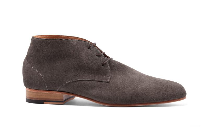 margo grey suede chukka boot on storenvy