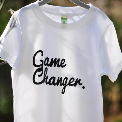 Game changer short sleeve tee - white